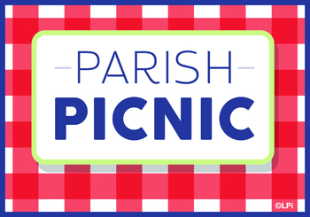 St Thomas Parish Picnic - Elm Avenue Park TENTATIVE DATE