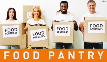 Food Pantry Collection Weekend