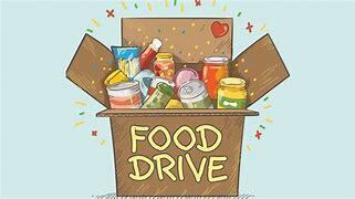 First Food Drive of 2021, Tuesday Jan 5, 3-4PM in the Church Parking Lot
