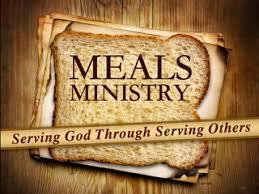 Meal Ministry Changes