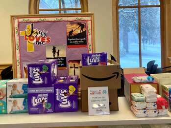 This Week's Food Drive Moved to Thursday, February 4, 3-4 PM , Due to the FORECAST SNOW STORM