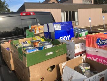 Thank You for Your Generosity in the March 23rd Drive.... Photos on the Food Pantry Page