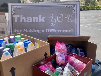 Thank You for your Generosity in this Week's Food Drive