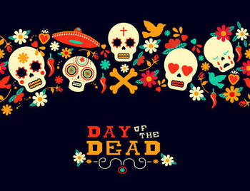 Set Up Altar of the Day of the Dead - Church