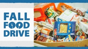 Fall Tuesday Food Drives Begin Tuesday September 14 from 3-4 PM in the Church Parking Lot