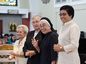 Four Sisters of Mercy Celebrate Jubilees