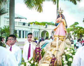 SCHEDULE FOR SOLEMNITY OF THE IMMACULATE CONCEPTION AND SANTA MARIAN KAMALEN