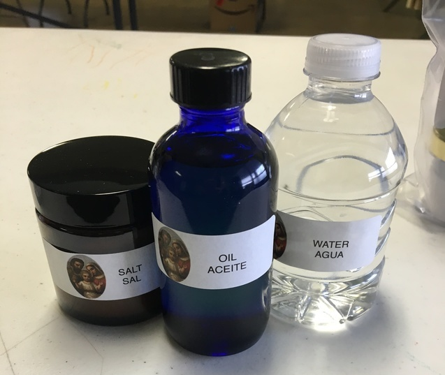 Salt, Oil and Holy Water