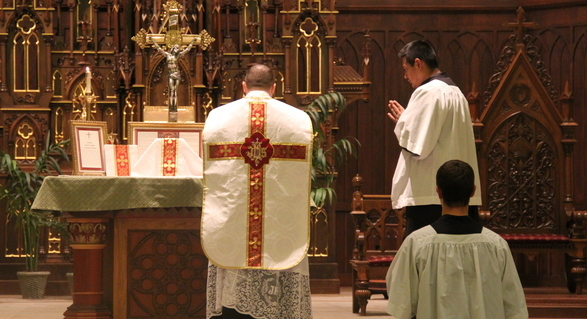 Mass and Confession Times - Cathedral of the Epiphany
