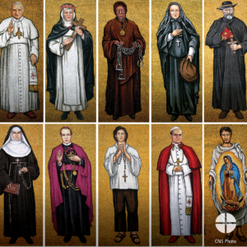Today is the Solemnity of All Saints