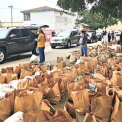 Parishes Step Up to Feed the Needy