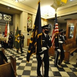First Responders Mass at St. Louis Cathedral