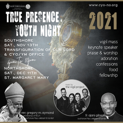 SAVE THE DATE: Youth True Presence Nights Coming this Fall!