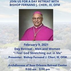 """""""I Feel God Stretching Out in Me"""" - A Day Retreat with Bishop Cheri"""