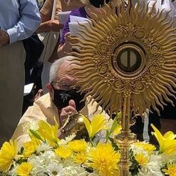 Eucharistic Procession for the Feast of Corpus Christi is Sunday