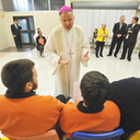 Holy Week prison visits extend the mercy of Christ
