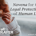 Novena for the Protection of Human Life begins Friday