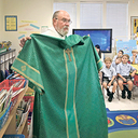 A Special Show and Tell at Stuart Hall Puts the Spotlight on the Diaconate