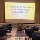 Catholic School Leaders Receive Guidance for Safe Reopening