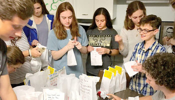 St. Pius X works at all age levels to combat homelessness