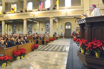Archbishop Aymond's homily during Tricentennial Mass