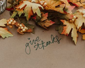 Thanksgiving Gives Us a Chance to Thank God and Family