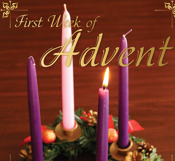 The traditions of Advent begin with us