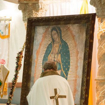The Feast of Our Lady of Guadalupe is December 12