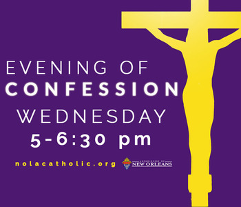Archbishop Aymond invites you to an Evening of Confession