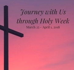 Preparing for Holy Week