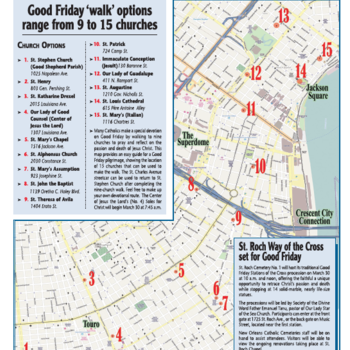 Hundreds of Good Friday Pilgrims to take the streets for the Traditional 9 Church Walk
