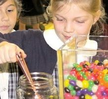 Prayers mount 'like jelly beans' at St. Angela Merici