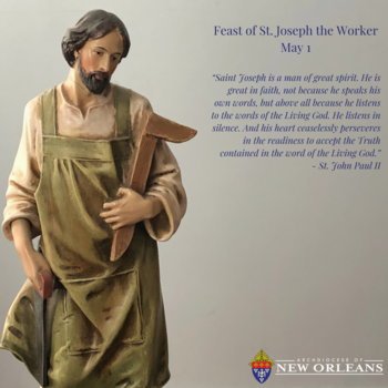 Feast of St. Joseph the Worker - May 1
