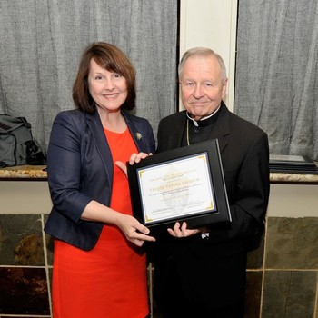 Catholic School Alumni Recognized at Distinguished Alumni Ceremony