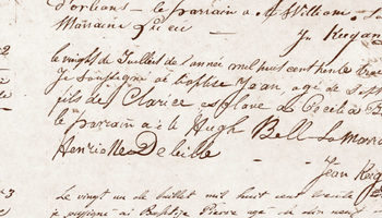 Archdiocesan Archives stretch back to 1718