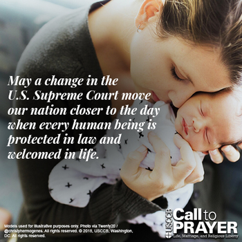 Novena for the Legal Protection of Human Life - Week 5