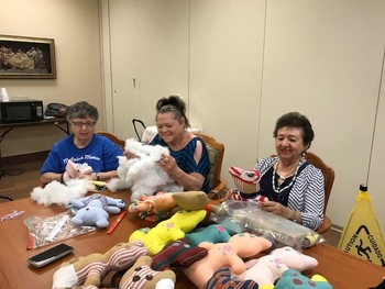 Metairie Manor - Bears Bring Smiles to the Community