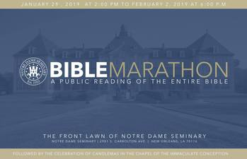 The Bible Marathon is LIVE