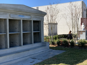 """All God's Babies Tomb"" nears completion"