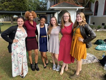 Cabrini High School Fights Human Trafficking with Dressember Day