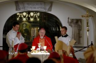 'Ad limina' Mass: Like St. Peter, bishops must be humble, archbishop says