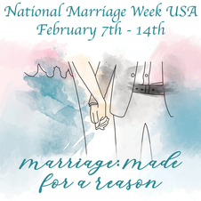 It's National Marriage Week!