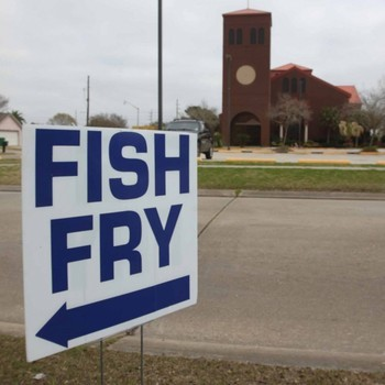 The parish fish fry and the hot-oil grammar debate