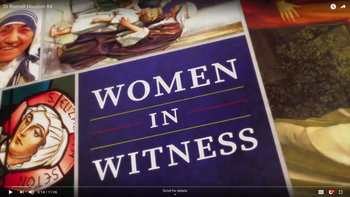 Women in Witness launches with Dr. RaeNell Houston