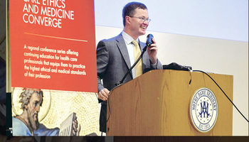 Medical ethics conference delves into life, dignity
