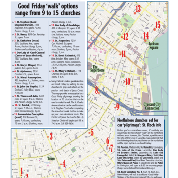 Uniquely #NOLACatholic: the Good Friday Nine Church Walk