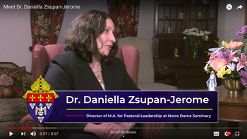 Meet Dr. Daniella Zsupan-Jerome in this week's Women in Witness