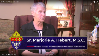 Women in Witness: Sr. Marjorie Hebert, MSC