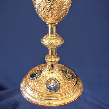 Family's Slovenian roots reflected in chalice