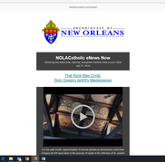 NOLACatholic eNews Now - July 31, 2019